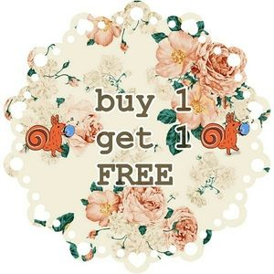 BOGO free sale on marked items!